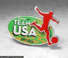 Olympic Pins Badge 2016 Rio De Janeiro Brazil Usa 2-Tiered Sport Soccer Football