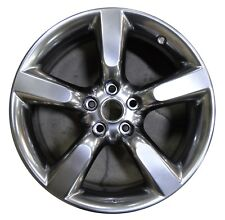 "18"" Nissan 350Z 05 06 07 08 09 Factory OEM Rim Wheel 62456 REAR Hyper Silver"