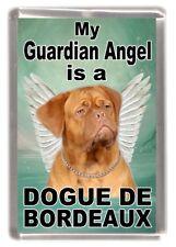 "Dogue de Bordeaux Dog Fridge Magnet ""My Guardian Angel is a ......"" by Starprint"