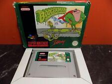 Boogerman Super Nintendo SNES Boxed PAL GG001