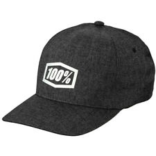 100% GENERATION X-Fit FLEXFIT Cap hat FLEXFIT MOTOCROSS MTB - Charcoal Heather
