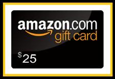 amazon gift cards 25 $