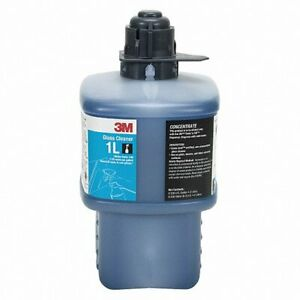 3M 1L Industrial Glass Cleaner Concentrate 2 Liters Makes 30 Gallons  NEW