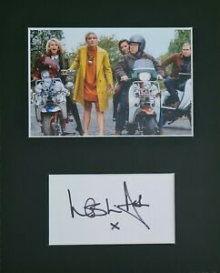 Leslie Ash, 'To Be Someone'' hand signed mounted autograph.