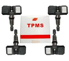 NEW Set of 4  Orange TPMS Tire Pressure Monitoring  Sensor SC3081  MN103081