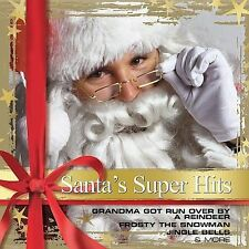 CD Santa's Super Hits Gene Autry Doug Stone Charlie Daniels Merle Haggard Dolly