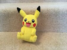 """Tomy Pokemon Pikachu 8"""" Plush teddy soft toy"""