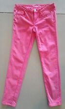 Aeropostale Junior Women's Pink Lola Jegging Denim Jeans, Size 4 Regular