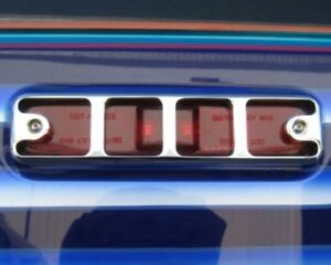 Hummer H2 Chrome Billet Aluminium Side Marker Light Guards Made in USA Set of 4