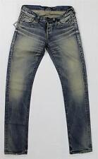 NWT Johnbull Blue Faded Selvedge Denim Tapered Leg Slim Jeans Made in Japan 32