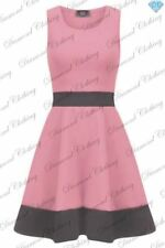 Vestiti da donna rosa senza maniche taglia XL
