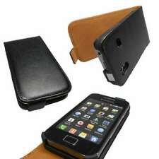 caseroxx Flip Cover for Samsung S5830 Galaxy Ace in black made of faux leather