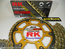 "RK GXW '02/05 ZZR1200 NINJA ZX1200C ""Ultimate Strength""  CHAIN AND SPROCKETS KIT"