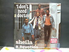 "MAXI 12"" SHEILA / B DEVOTION I don't need a doctor 8010"