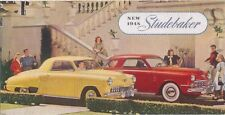 Studebaker Champion Commander Regal 1948 Original USA Foldout Brochure No. F684E