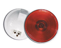 NEW ROUND RED  4 INCH STOP / TURN / TAIL LIGHT