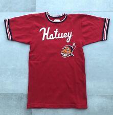 Vintage Hatuey Malt Beer Brew Cuban Baseball Jersey T Shirt Small Xs 70s Indian