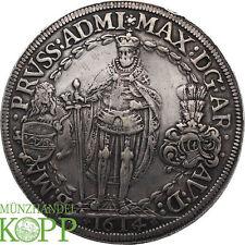 WAL012) Deutscher Orden Doppeltaler 1614 Maximilian I. 1590-1618