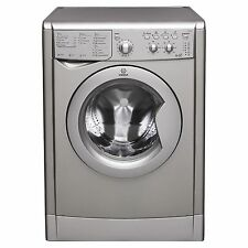 Indesit Iwdc6125s Standing 6kg 1200 Spin Washer Dryer White