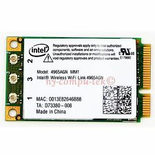 New INTEL Wireless-N Wifi AGN Half Mini PCI-E Card DELL D520 D620 D820 D630 D830
