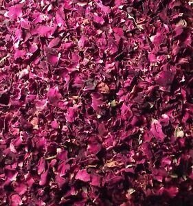 Rose Flower Petals 250g Sun Dried Edible Natural Gulab Soap Food Free Ship