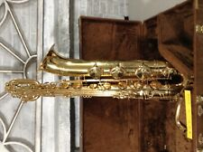 Buescher Baritone Saxophone wit low a key