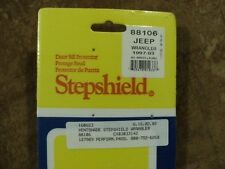 Vintage Ventshade Stepshield Door Sill Protectors Black for 97-03 Jeep Wrangler