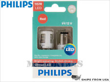 NEW! PHILIPS 1157R ULTINON LED RED BULBS 1157RULRX2 | PACK OF 2