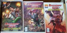 Danger Girl Army Of Darkness Evil Dead Horror Comic 6 Issue Lot Sam Raimi