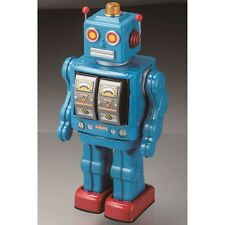 Tin plate Robot Star Strider blue Version Metal House No battery Japanese