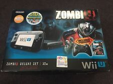 Brand New Nintendo Wii U ZombiU Deluxe Set 32GB Zombi U