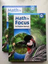 Math in Focus: Singapore Math: Grade 4: Volume A AND Volume B