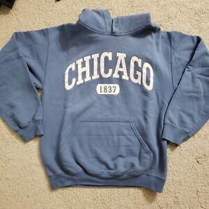Gildan Unisex Chicago Hoodie Size S