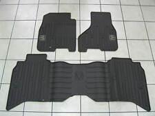 DODGE RAM Mega/Crew Cab Rubber Slush Floor Mat Set Front&Rear NEW OEM MOPAR