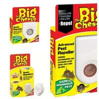 STV Sonic Mouse Rat Mice Repeller Deterrent Repellent Big Cheese Rodent Pet Safe