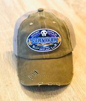 SURVIVOR Cap Hat Embroidered Patch GHOST ISLAND TV Season 36 Trucker Mesh