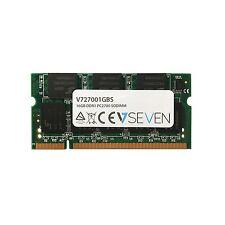 V7 v727001gbs Notebook ddr1 SO-DIMM Memoria 1gb 333mhz, cl2.5, pc2700