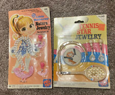 Vintage Dime Store Hong Kong Tennis Jewelry Little Buttercup Nature Peg Toy
