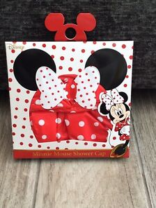 Disney Minnie Mouse Shower Cap New & Boxed