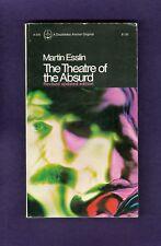 Martin Esslin The Theatre of the Absurd Samuel Beckett Jean Genet Ionesco Adamov