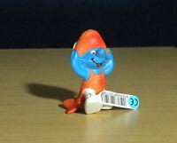 Smurfs 20719 Pisces Smurf Fish Astrology Zodiac Figure Vintage Schleich PVC Toy