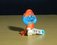 Smurfs Pisces Smurf Astrology Sign Zodiac Fish Figure Vintage Schleich Toy 20719