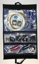 Premium Shark Rigging Kit - Hand Crimper, Cable,Leader,Hooks,Crimps, & Thimbles