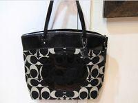 Authentic Coach Signature Shopper ashley Shoulder handbag purse tote F18335 new
