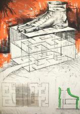 Engraving Contemporary Art Original Art Prints