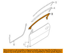 FORD OEM 05-14 Mustang Door-Upper Weatherstrip Weather Strip Left AR3Z6320709A