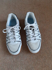 Dunlop Court Master Squash/Tennis Shoes, white, size 13, used