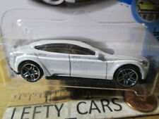 HOT WHEELS Pear White TESLA MODEL S 4Door Car FACTORY FRESH BEST FOR TRACK 1/64