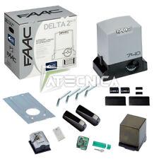 Kit cancello scorrevole FAAC DELTA 2 KIT SAFE 1056303445 automazione 500kg 230V