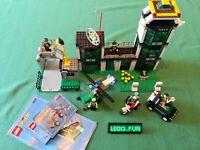 LEGO® 6332 große Polizei-Station +OBA / Police Command post central +Instr. City